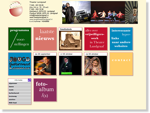 Website Theater Landgraaf